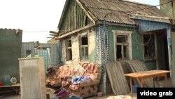 Дом в Крымске, разрушенный наводнением
