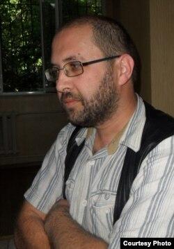 Саяхатшы Виктор Хомутовский.