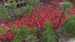 Миллион каталонцев вышли на улицы Барселоны с требованием независимости (видео)