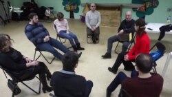 Репетиція інклюзивного театру «Посох»