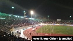 Футбольный матч в Андижане, архивное фото.