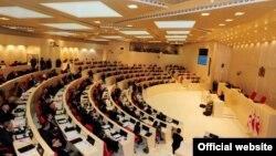 У залі парламенту Грузії в Кутаїсі, ілюстраційне фото