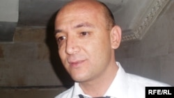 Директор Центра журналистских расследований Таджикистана Хуршед Атовулло.