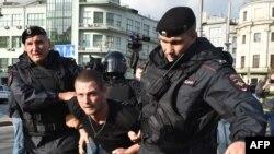 Задержание в центре Москвы, 10 августа 2019 года