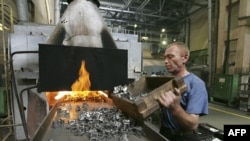 Blue-collar workers are bearing the brunt of the economic crisis in Russia