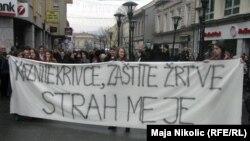 Prosvjedi u Tuzli, 8. siječanj 2011