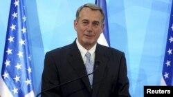 АҚШ конгресі өкілдер палатасының спикері Джон Бонер.