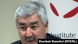 """Әміржан Қосанов, """"Азат"""" ЖСДП бас хатшысы. Алматы, 30 қыркүйек 2010 жыл"""