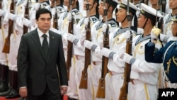 Türkmənistan prezidenti Gurbanguly Berdymukhammedov, Pekin 06 iyun 2012