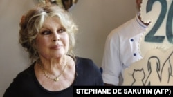 French actress turned animal rights activist Brigitte Bardot (file photo)
