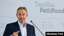 Колишній прем'єр-міністр Британії Тоні Блер у Києві, 6 червня 2011 року