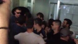 Тензии пред Ректоратот на УКИМ