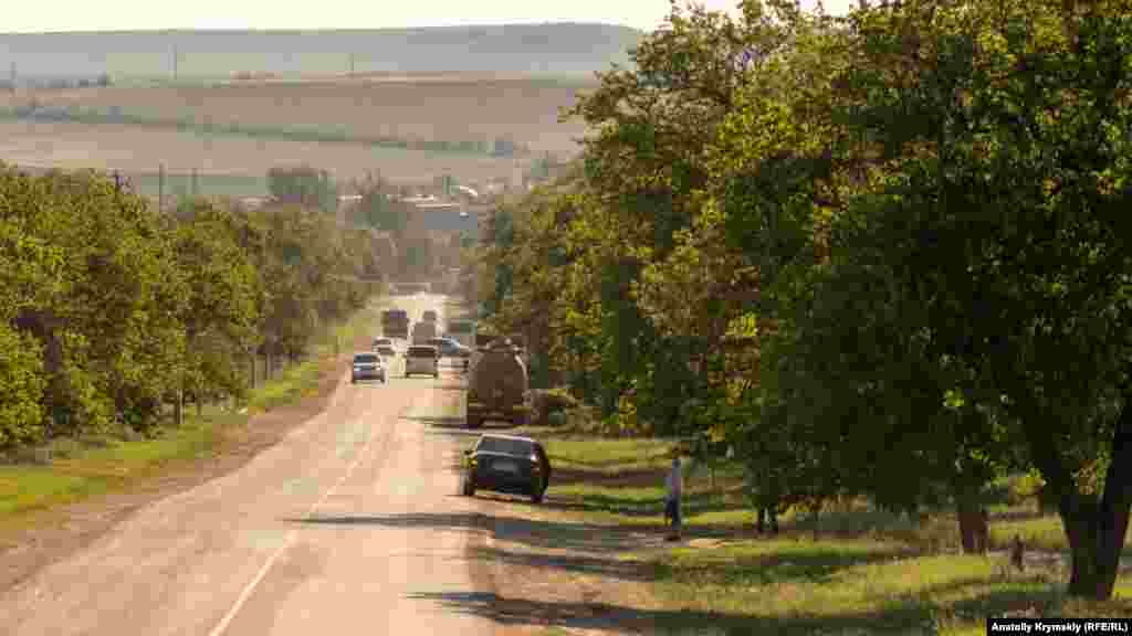 Самая длинная улица Шоссейная соединяет поселок с автотрассой «Таврида»