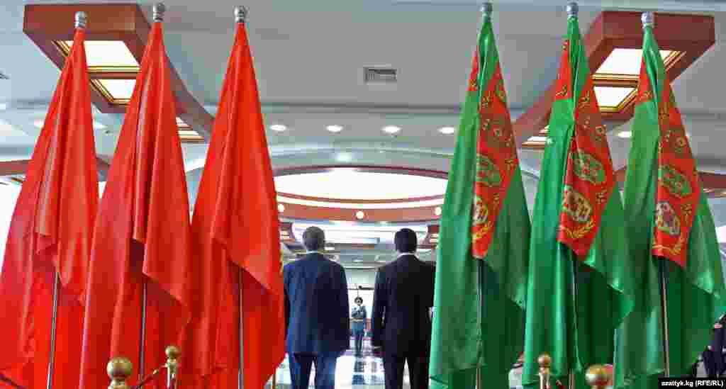 Türkmenistanyň prezidenti G.Berdimuhamedowyň Gyrgyzystana sapary 6-njy awgustda tamamlanýar.