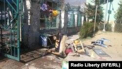 Після нападу смертника у провінції Кунар, 27 лютого 2016 року