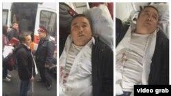 Темирлан Ормуковдун ичин тилип жибергенден кийинки абалы. 29-март, 2018-жыл