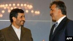 İran prezidenti Mahmud Əhmədinejad və Türkiyə prezidenti Abdullah Gül, 2008