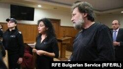 Евгения и Николай Баневи в Специализирания наказателен съд