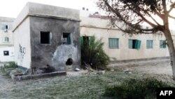 Një stacion policor i shkatërruar në Sinai, 11 gusht 2013