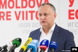 Liderul PSRM Igor Dodon