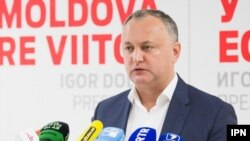 Liderul PSRM, Igor Dodon. Chișinău, 16 martie 2021, IPN