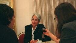گفتگوی هانا کاویانی و سالومه آساتیانی با جون بائز