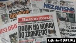 Šta piše štampa ovih dana o referendumu u RS?