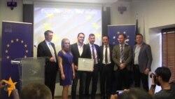 """Во Косово доделена наградата """"Европеец на годината"""""""