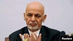Ауғанстан президенті Ашраф Ғани Кабулде өтіп жатқан халықаралық бейбітшілік конференциясында отыр. 6 маусым 2017 жыл.