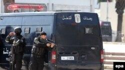 قوات مكافحة الارهاب في تونس