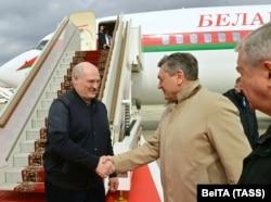 Александр Лукашенко прибыл в Москву для переговоров с Владимиром Путиным, 22 апреля 2020 года