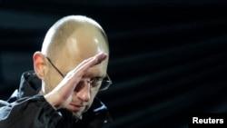 Арсений Ятсенюк-нахуствазири нави Украина