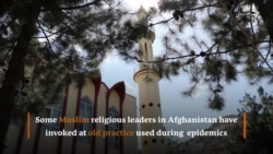 Muslim Call To Prayer Now Carries Stay-At-Home Message In Afghanistan