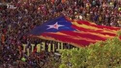 Мирний протест в Барселоні мирним не вийшов – відео