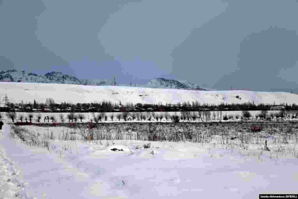 1956 жылға дейін Қазақстанға қараған Бостандық ауданына жататын Жамбай ауылы Ташкенттен 80 шақырым қашықта тұр.