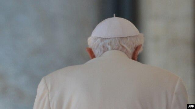 Papa Benedict al XVI-lea la ultima sa audienţă