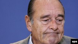 France -- President Jacques Chirac portrait, 09Mar2007