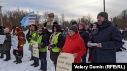 Митинг против инсинераторов в Архангельске