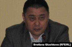 Куат Оспанов, заместитель начальника департамента собственной безопасности МВД. Астана, 26 июня 2012 года.