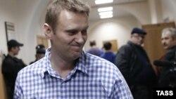 Российский оппозиционный политик и блогер Алексей Навальный.