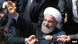 Iranian President Hassan Rohani says Iran will appeal a U.S. court ruling diverting frozen Iranian funds to U.S. victims of terrorist attacks.