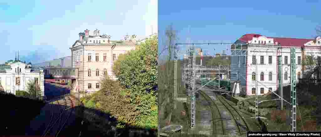 Railway in Perm, Russia. 1909/2012