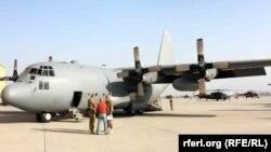 АҚШ әскери ұшағы. Ауғанстан, 9 қазан 2013 жыл.