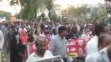 WATCH: Pakistani Journalists Protest 'Draconian' Draft Media Law