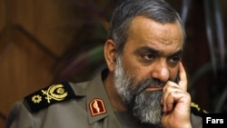 Mohammad Reza Naghdi, head of the Basij forces
