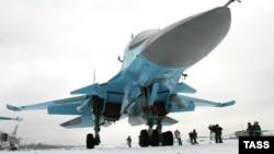 Російський винищувач-бомбардувальник Су-34