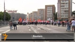 Russian Opposition Holds Moscow March
