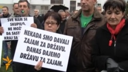 Protest metalaca u Sarajevu