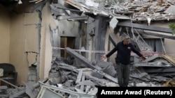Будинок, зруйнований внаслідок обстрілу, що стався на північ від Тель-Авіва, 25 березня 2019 року