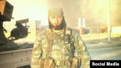 Хуршид Мухтаров, узбекистанец, воюющий в рядах «Исламского государства» в Сирии. Фото взято с веб-сайта Узбекской редакции радио Би-Би-Си.